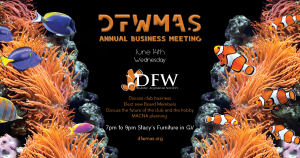 Annual Business Meeting, June 14th. @ Stacy