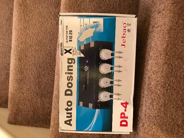 Jebao Doser DP-4 – Dry Goods For Sale/Trade – DFWMAS Forum
